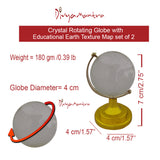 Divya Mantra Combo of Two Feng Shui Crystal Globes For Success - Divya Mantra