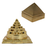 Divya Mantra Combo Of Wish Pyramid And Meru Shree Yantra For Vastu - Divya Mantra