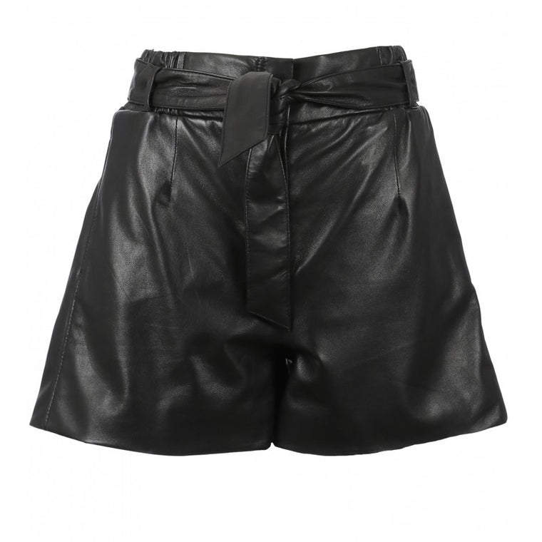 Short en cuir  CARMEN44  By  CUIR CO