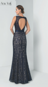Robe longue NY2748 By FASHION NEW YORK