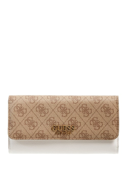 Porte feuille marron SB796765 By GUESS