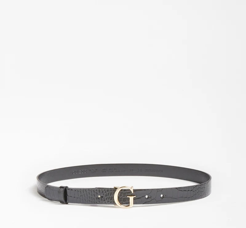 Ceinture croco BW7450  By GUESS