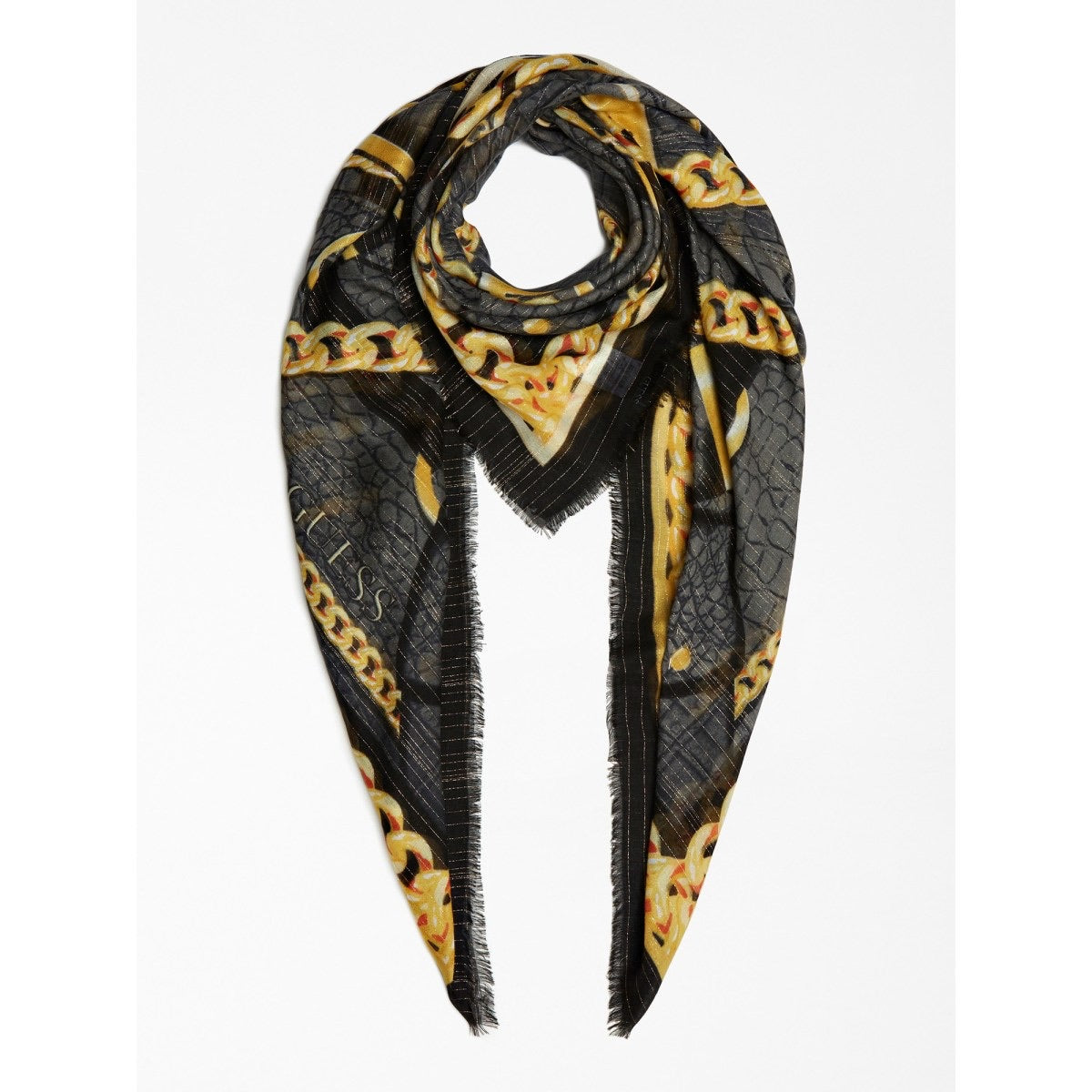 Foulard chaine et logo AW8346 By GUESS