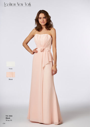 Robe longue NY3104 By FASHION NEW YORK