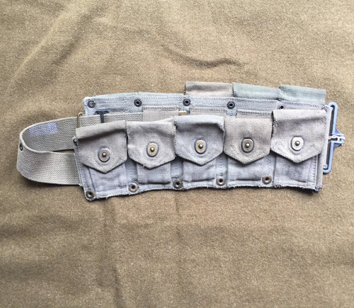 M1923 OD7 Cartridge Belt