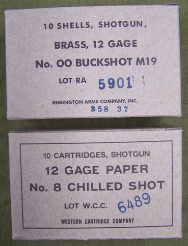 12 Gauge Shotgun Ammo Cartons