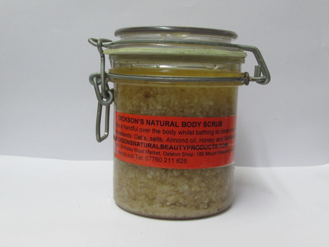 Dickson's NATURAL BODY SCRUB