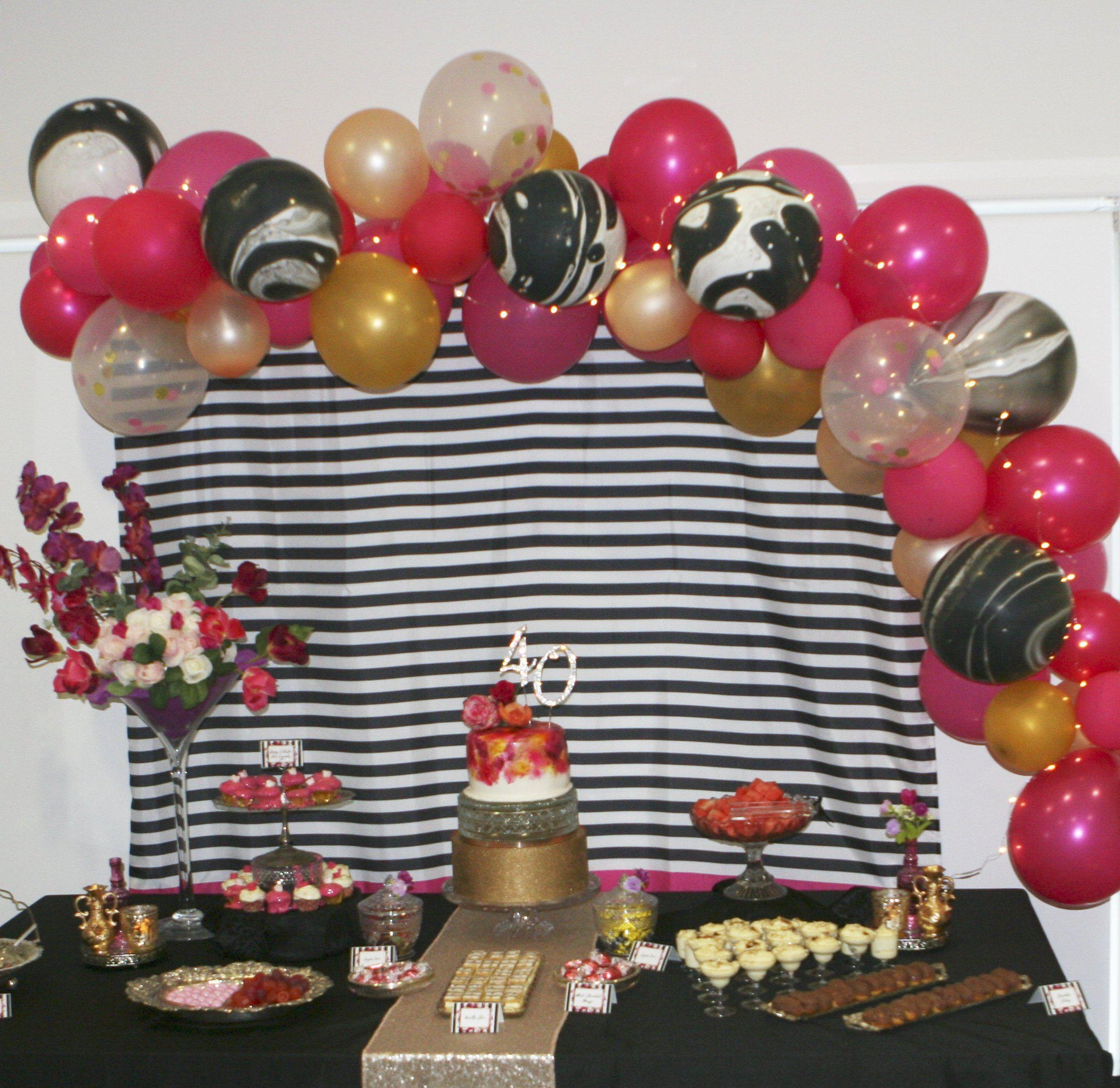 Lolly table or Dessert table setup