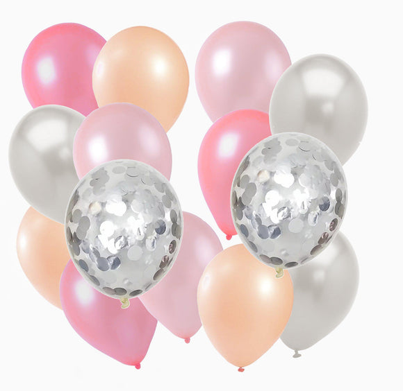 Balloon Pack - Pastel Pinks