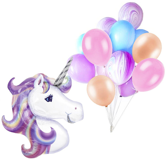 Balloon Pack - Pastel Unicorn
