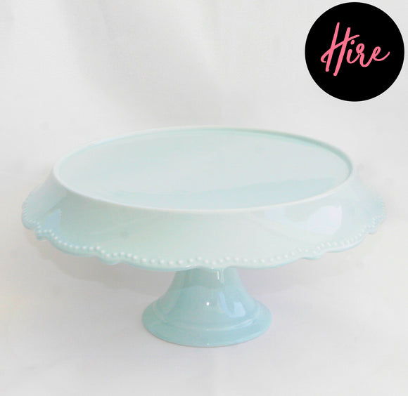 Hire - Cake Stand Mint - LifeStyle Emporium