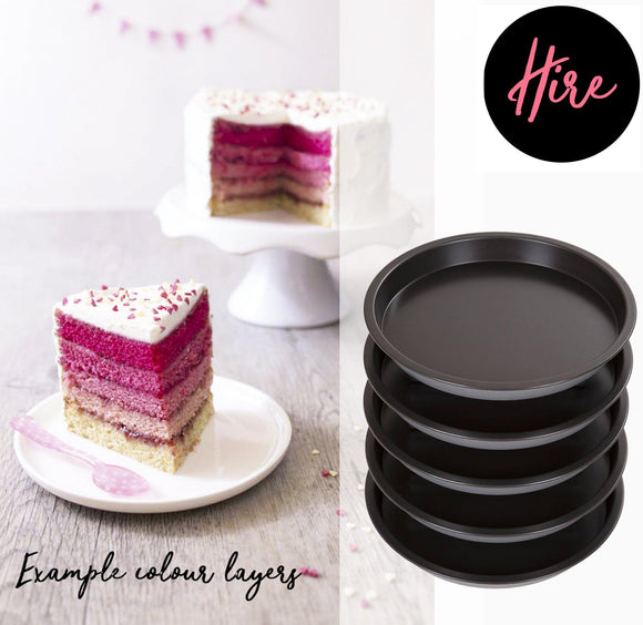 Hire - Cake Pans 5 Layers