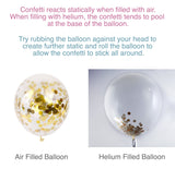 Confetti Balloon tips