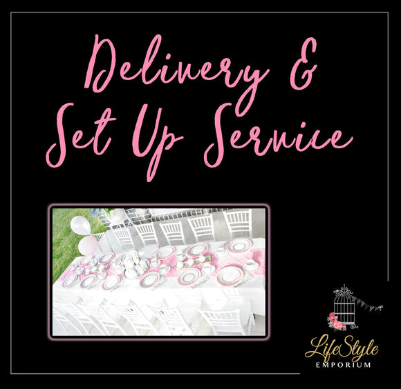 Delivery and Setup Service