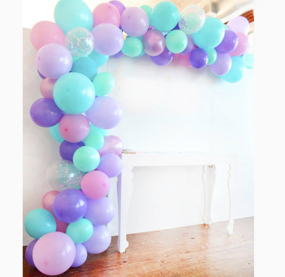 Balloon Garland Kit - Pastels Mermaid