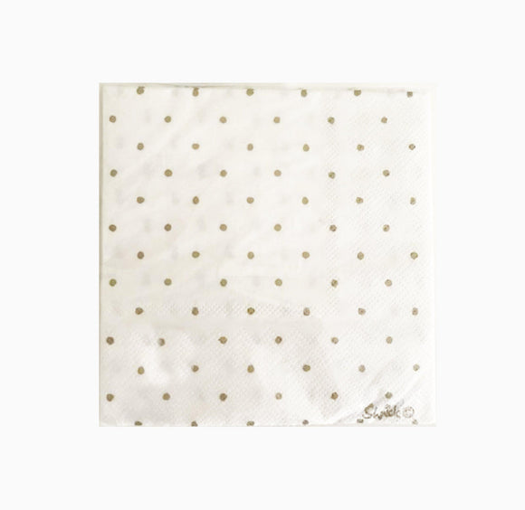 Napkin Small - Gold Spot