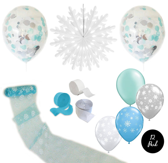 Decor Pack - Frozen Snowflakes - LifeStyle Emporium