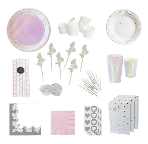 Iridescent Mermaid Party Pack