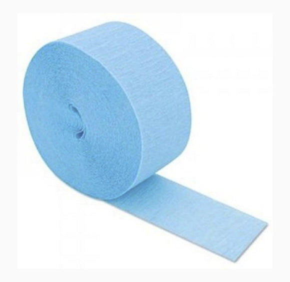 Streamer - Light Blue Crepe