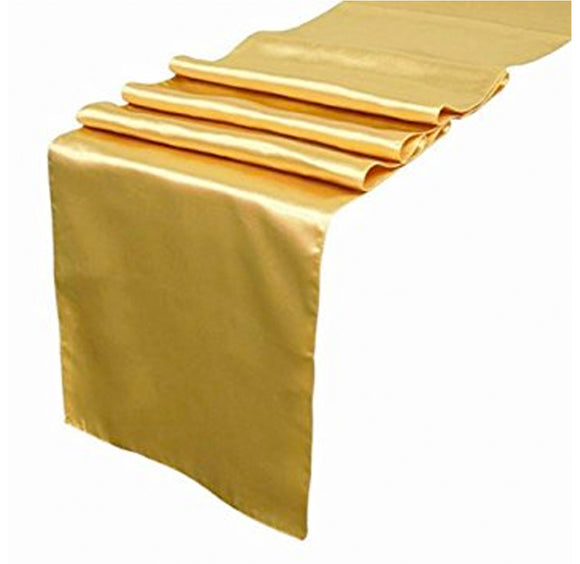 Table Runner - Satin Gold - LifeStyle Emporium