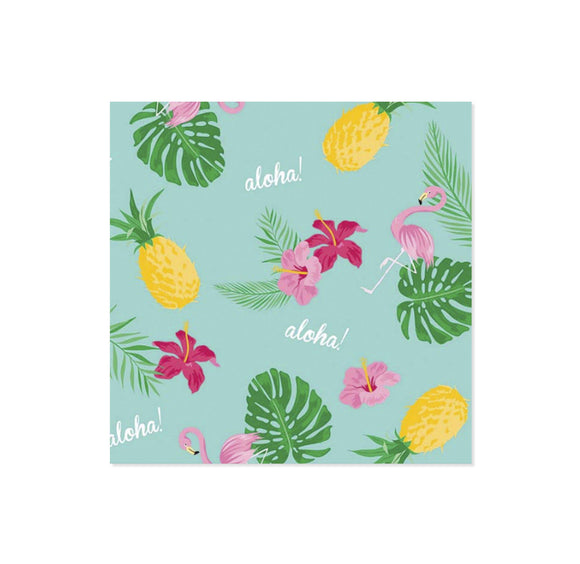 Napkins - Flamingo Tropical
