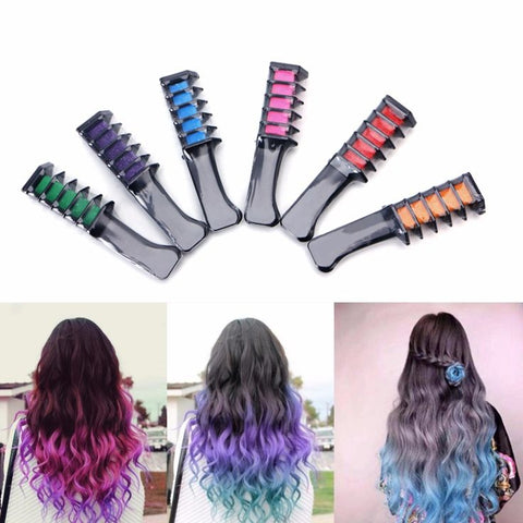 Magical Temporary Hair Chalk Comb – Make Trendy