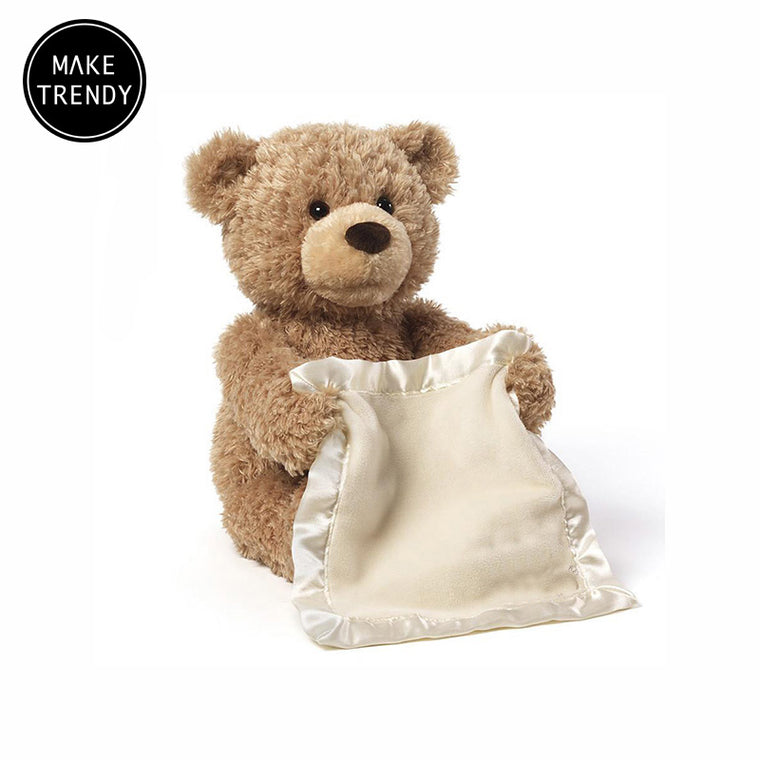 MakeTrendy™ - Peek-a-Boo Play Bear