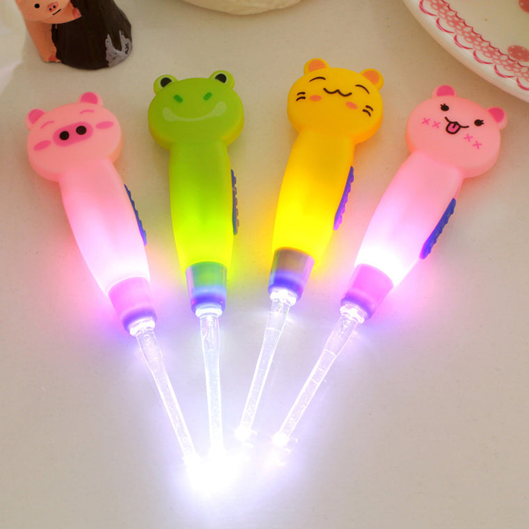 LED Ear Cleaner for Baby (Set of 4)