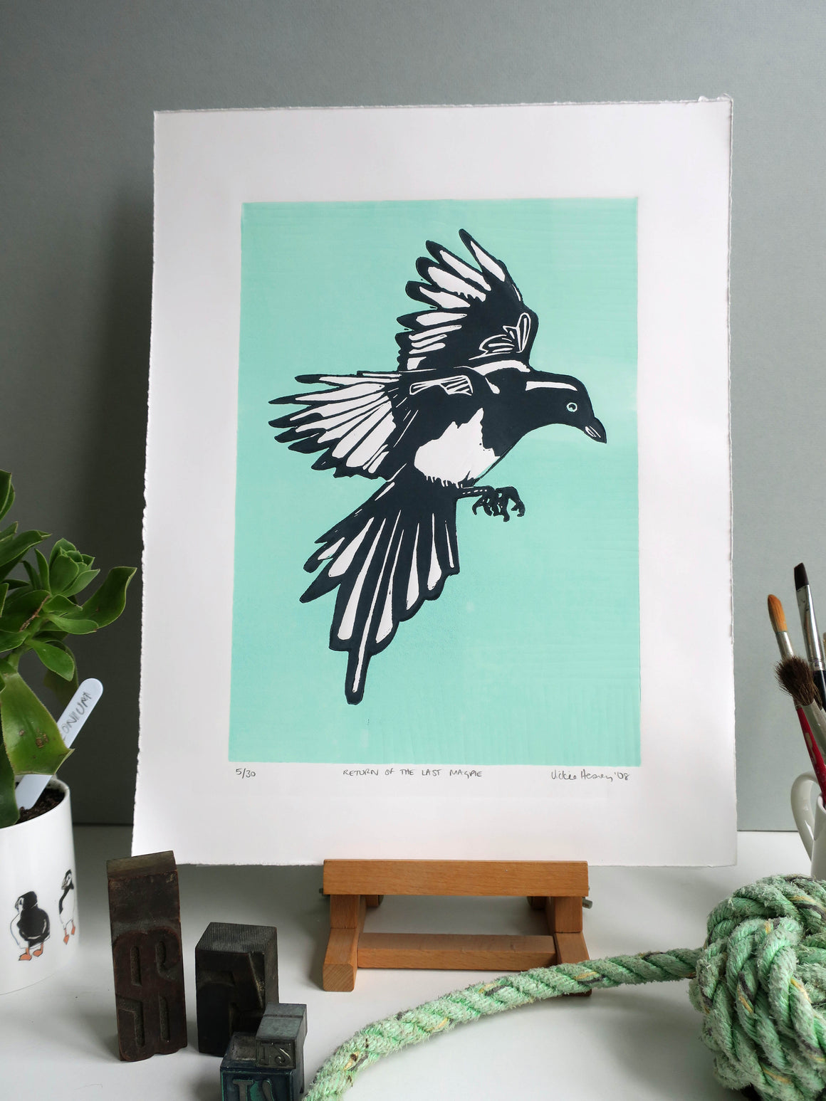 Return of the last Magpie