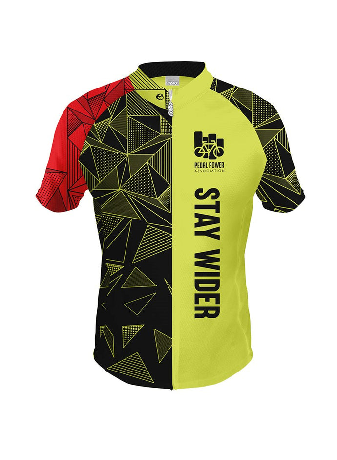 2018  Stay Wider of the Rider Safe Cycling Jersey Version 1