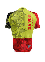 Stay Wider of the Rider Short Sleeve Jerseys LUMO