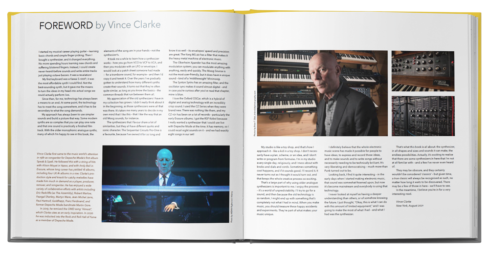 Vince Clarke foreword SYNTH GEMS 1