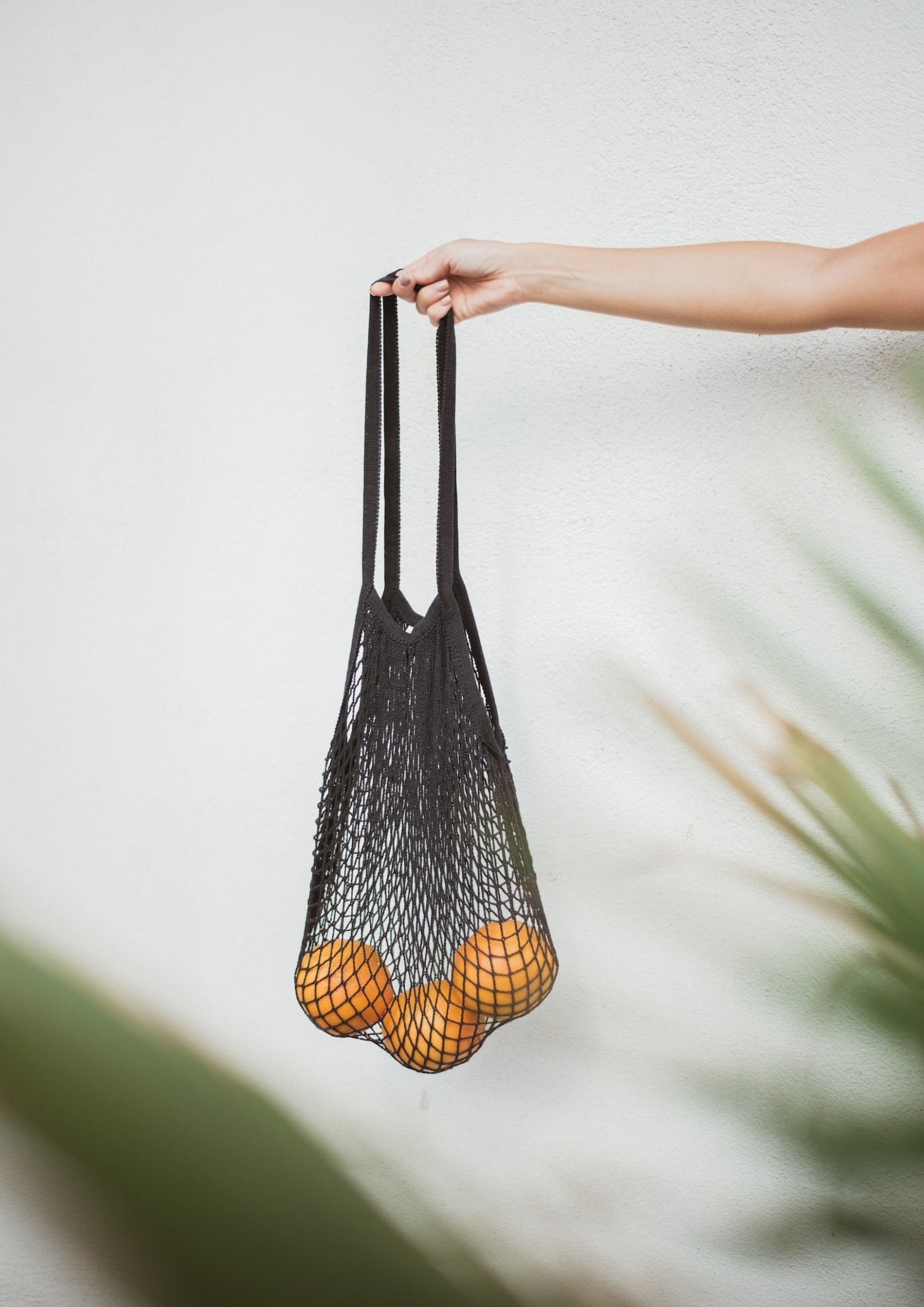 Avalyn & Lulu accessory net bag black swimwear collection