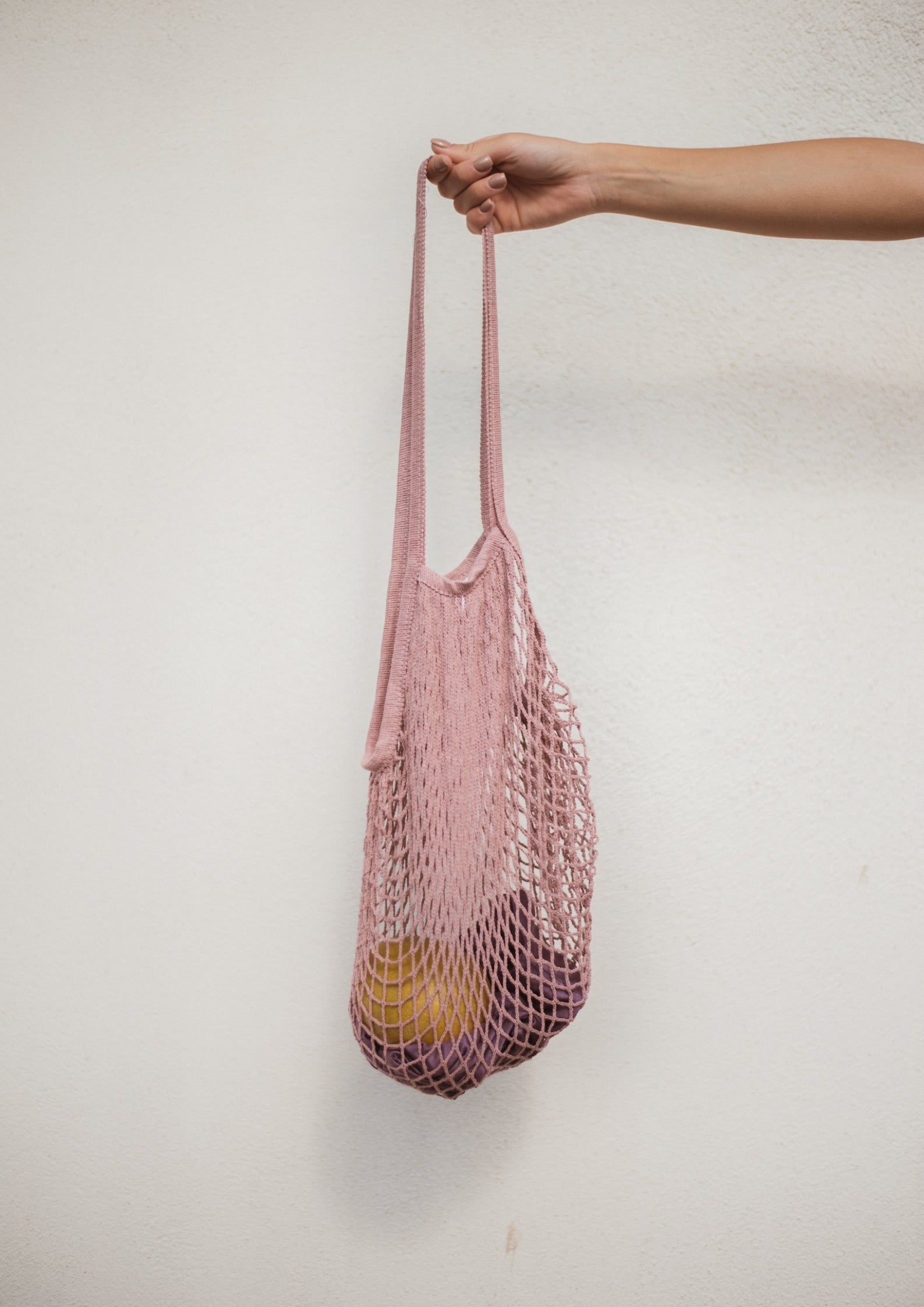 Avalyn & Lulu accessory net bag pink swimwear collection