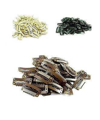 Hair Extension Metal Snap Clips - Haircaredelight.co.uk