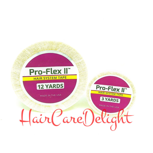 Pro-flex II Tape Roll 3, 12, 36 Yards - Haircaredelight.co.uk