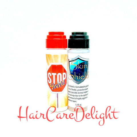 Stop Shine Skin-Shield Set Scalp Protector Skin Barrier Adhesive Hair Wig Toupee - Haircaredelight.co.uk