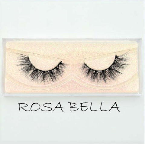 Mink Lashes Rosa Bella - Haircaredelight.co.uk