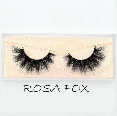 Mink Lashes Rosa Fox - Haircaredelight.co.uk