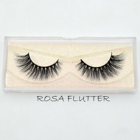 Mink Lashes Rosa Flutter - Haircaredelight.co.uk