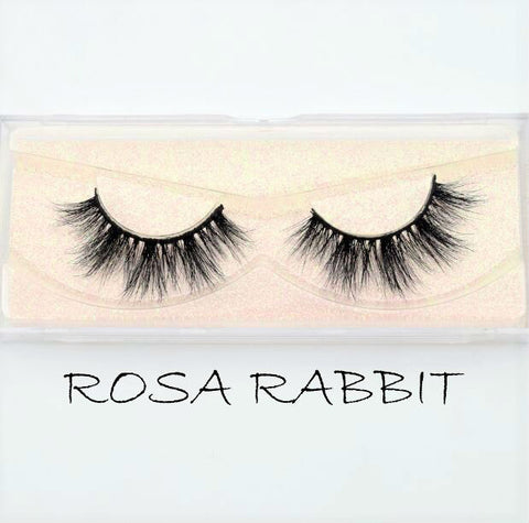 Mink Lashes Rosa Rabbit - Haircaredelight.co.uk