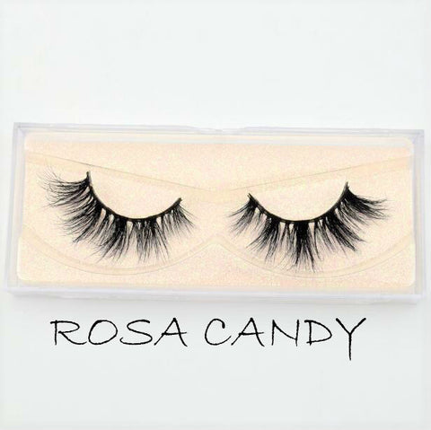 Mink Lashes Rosa Candy - Haircaredelight.co.uk