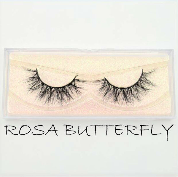 Mink Lashes Rosa Butterfly - Haircaredelight.co.uk