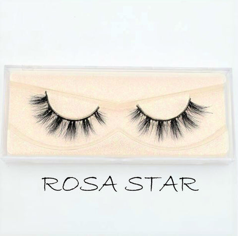 Mink Lashes Rosa Star - Haircaredelight.co.uk