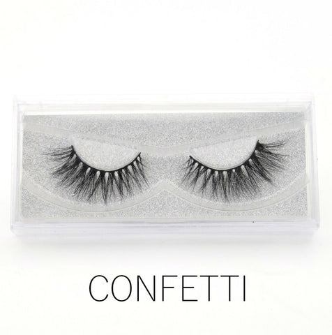 Glam Mink Lashes Confetti - Haircaredelight.co.uk