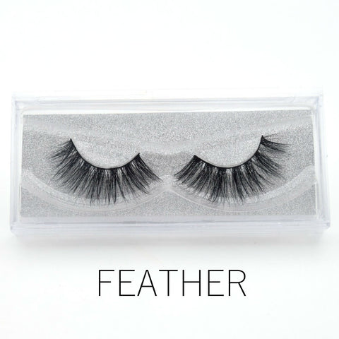 Glam Mink Lashes Feather - Haircaredelight.co.uk