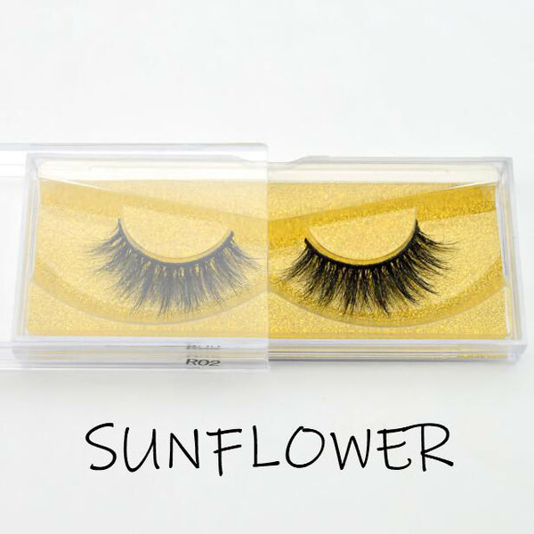 Summer Mink Lashes Sunflower - Haircaredelight.co.uk