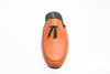 men, orange, tassels, indoor shoe, Ludovic, Line Loup, leather