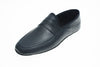 indoor slipper, calfskin, men, Line Loup, Roby, navy