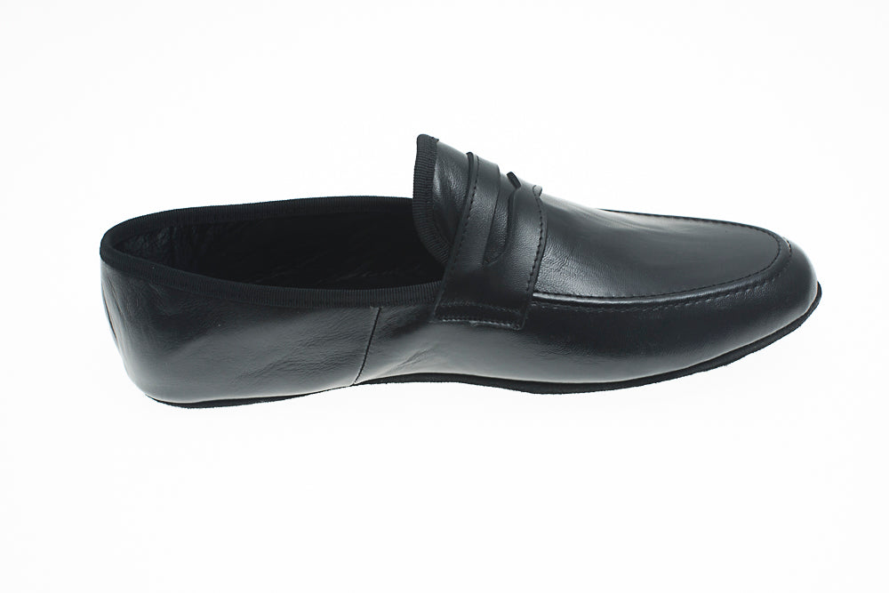 Loafer, Line Loup, men, Roby, black, calfskin